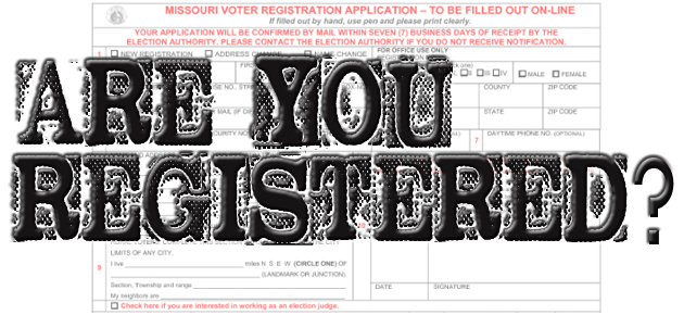 Register by Wednesday to vote in November's election