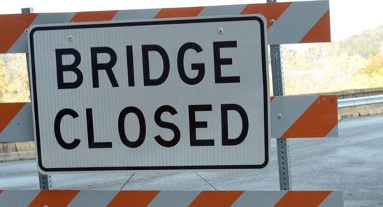 Maintenance Work on Grand River Bridge Near Gallatin, Use Caution