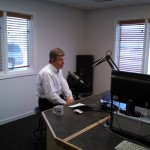 U.S. Senator Roy Blunt in the KRLI Studios Saturday (03/29/14).