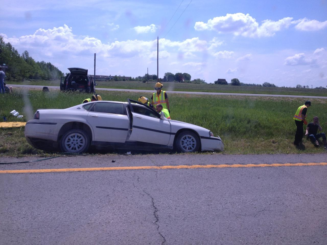 Laclede Resident Injured in Accident
