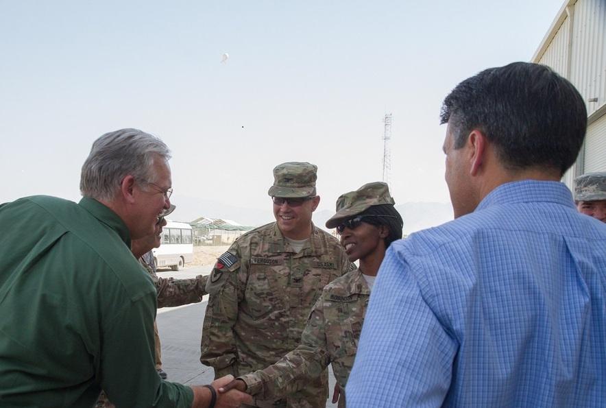 Governor Part of Delegation in Afghanistan