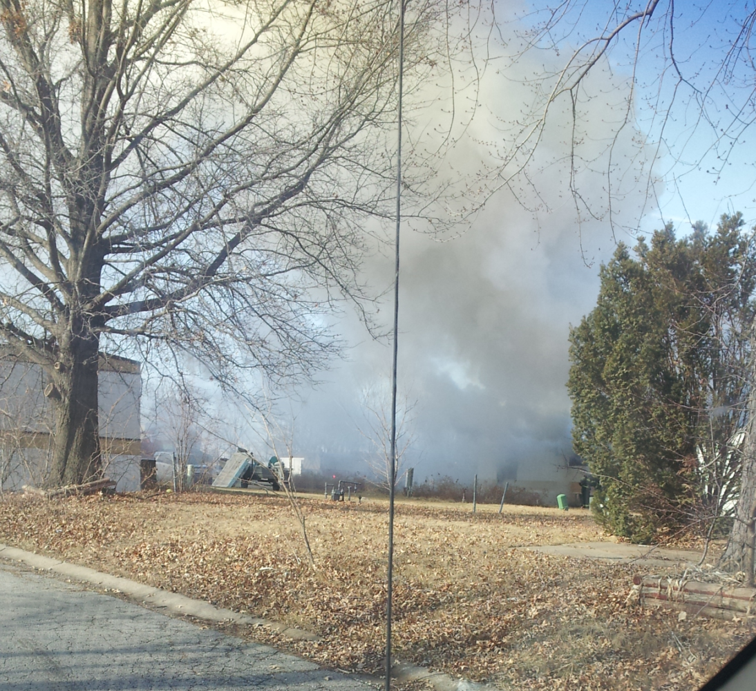 Fire reported in Bates City