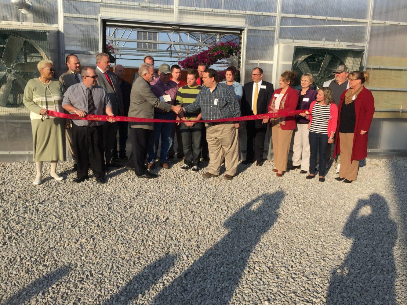 Ribbon Cutting for Richmond RXVI Ag Greenhouse