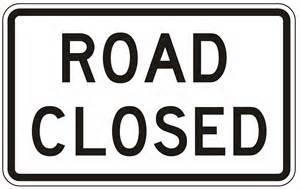 Road closure on Route U in Lafayette County