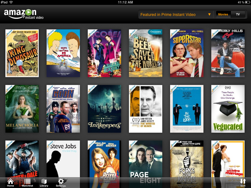 how to watch amazon prime movies on android