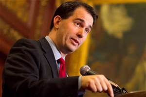 Walker to focus on Iowa following quiet debate