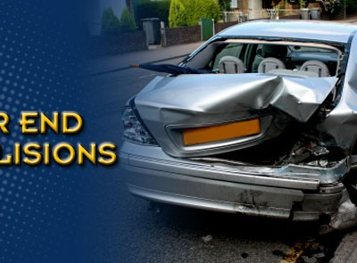 A rear end collision injured a driver in Clinton County