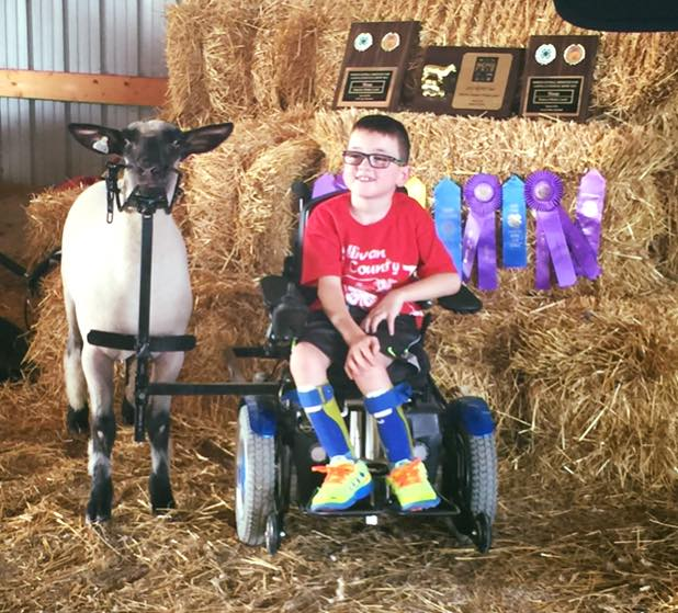 Life With Layton: Wooly, Roo, a wheelchair, and a little boy with moxie