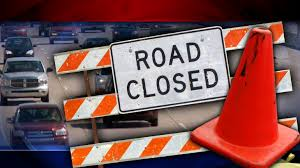 Multiple road closures in listening radius due to water over roadway