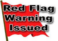 Red Flag Warning in effect until 6:00 p.m. Thursday