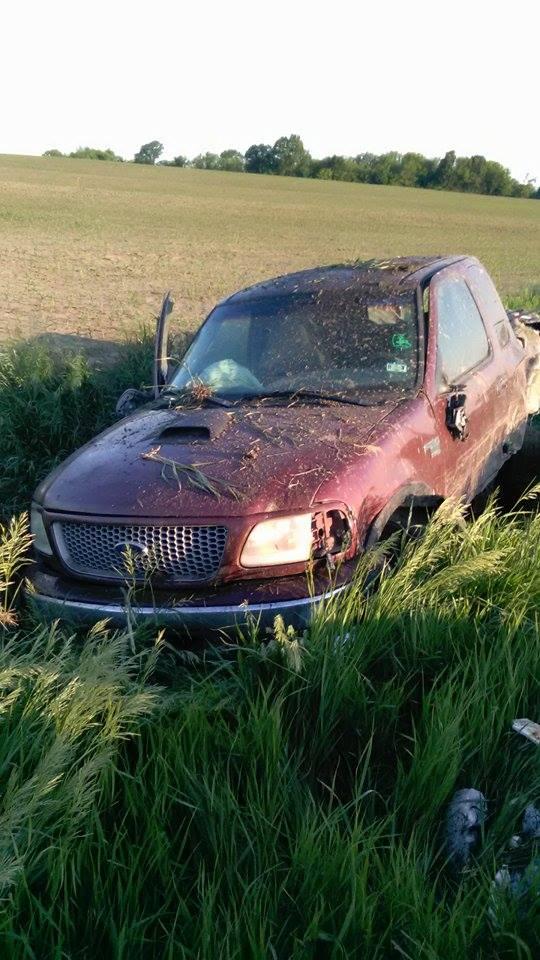 UPDATED – Single vehicle crash near Bosworth, vehicle abandoned