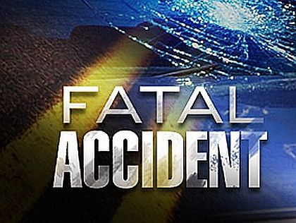 A car crash ends in a fire, double fatality