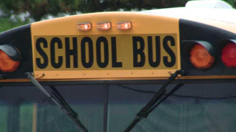 Child left on school bus in Columbia