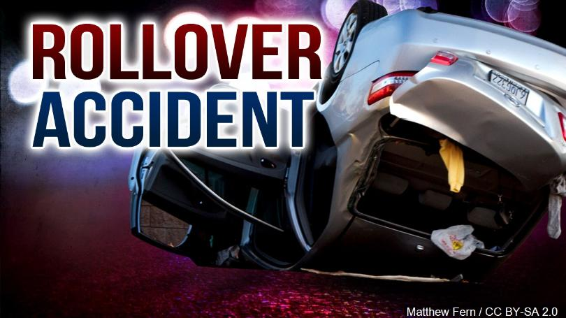 Rollover accident leaves three injured in Johnson County