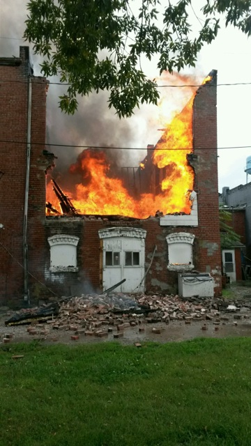 Chilhowee fire claims two downtown structures Sunday afternoon