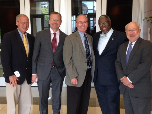 Mayor Sly James convenes Missouri Mayors to speak with candidates running for statewide office