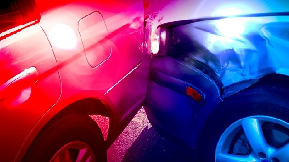 Two injured in early morning crash, East of Orrick