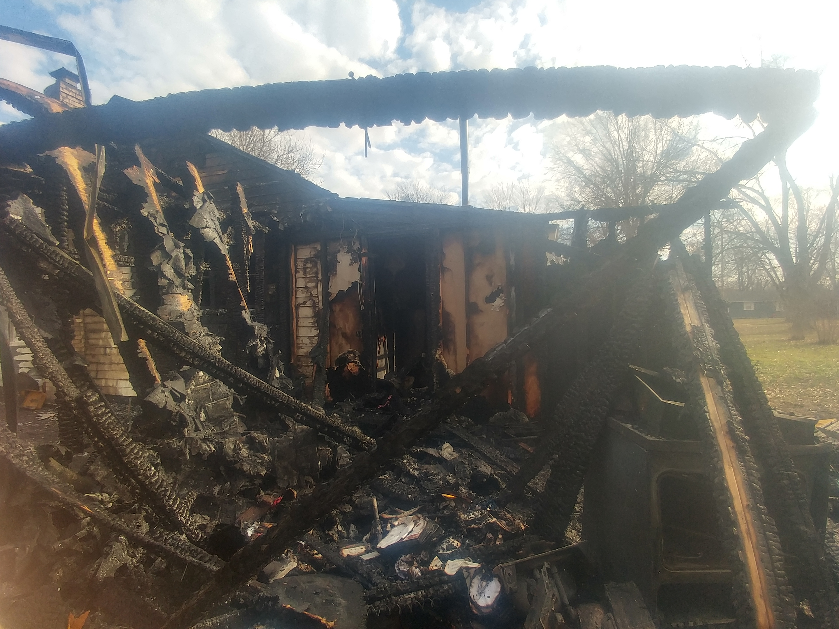 Fire in Brookfield causes extensive damage to home