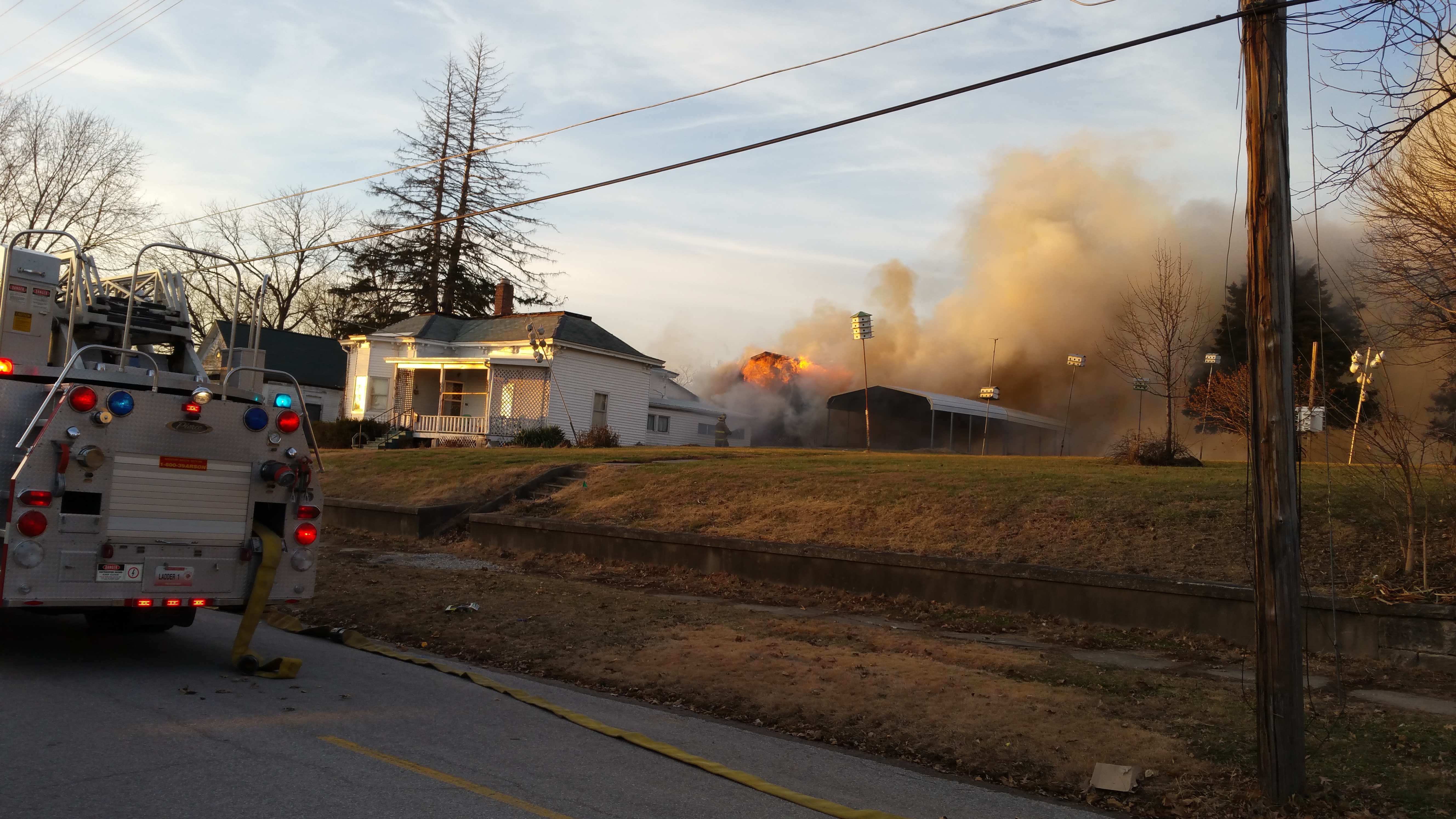 Breaking News: Fire reported in Carrollton is under control