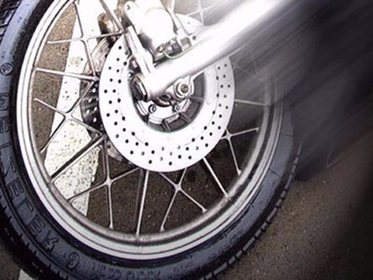 Motorcycle driver seriously injured, cited for intoxication after crash