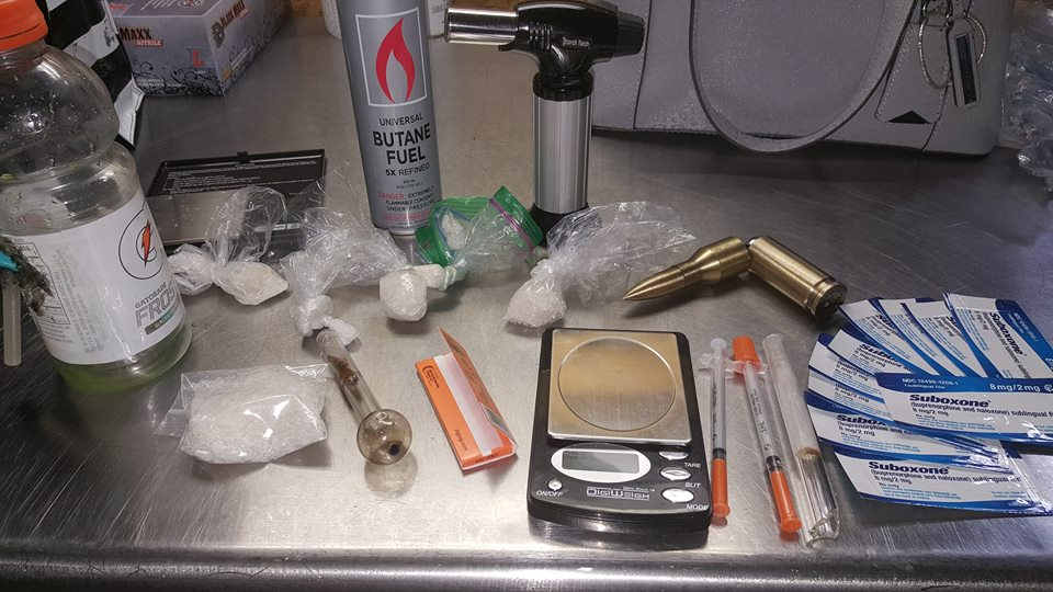 Narcotics and paraphernalia seized following a tip in Oak Grove