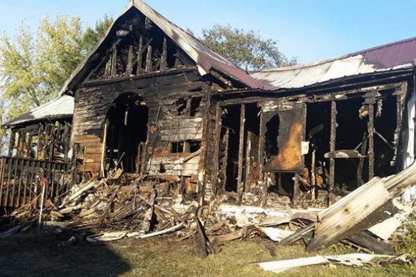 Donations being accepted after Bogard-area blaze razes home