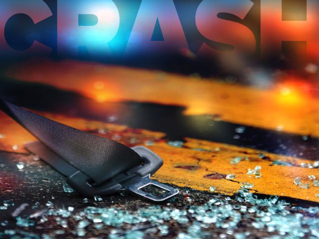 Driver loses control after maneuver, injured in crash