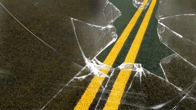 Bates City driver hospitalized after rear-end collision