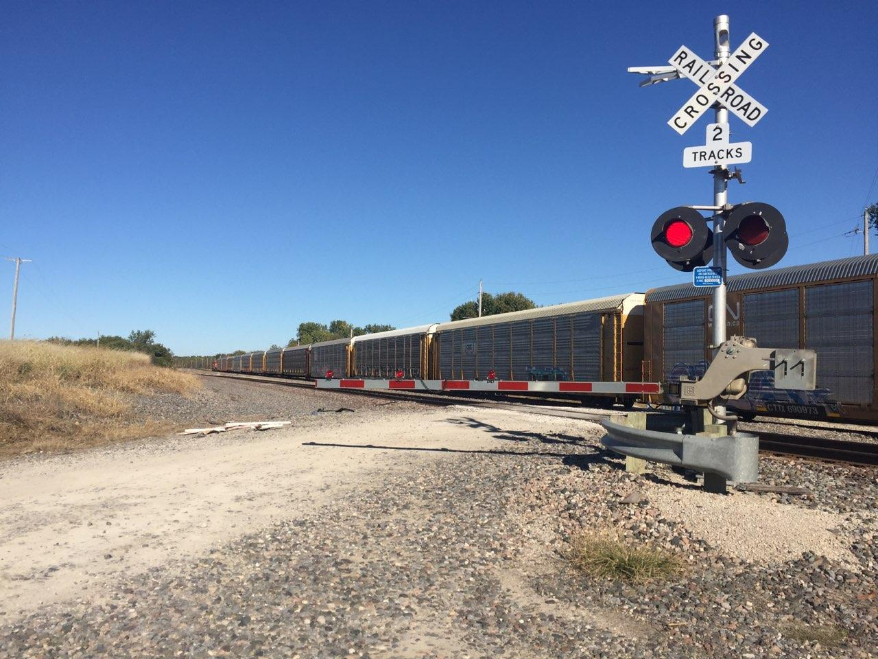 BREAKING:  Motor vehicle wreck at train tracks near Standish