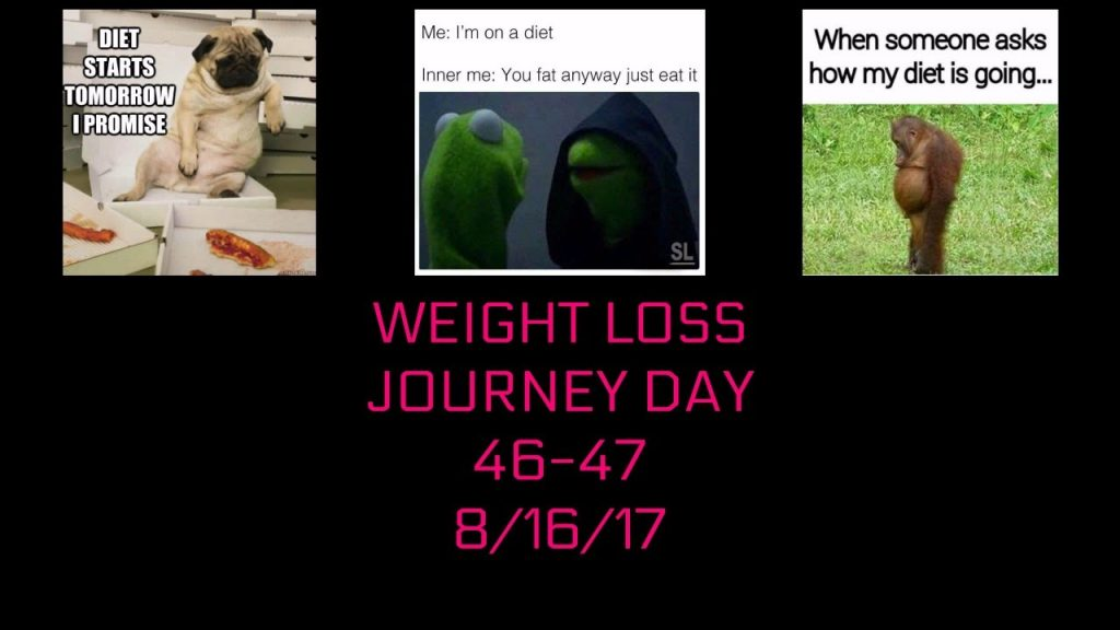 WEIGHT LOSS JOURNEY DAY 46 & 47 | LOW CARB DIET | 8/16/17