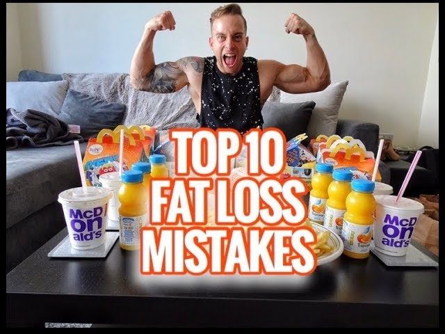 Top 10 Nutrition Mistakes For Fat Loss
