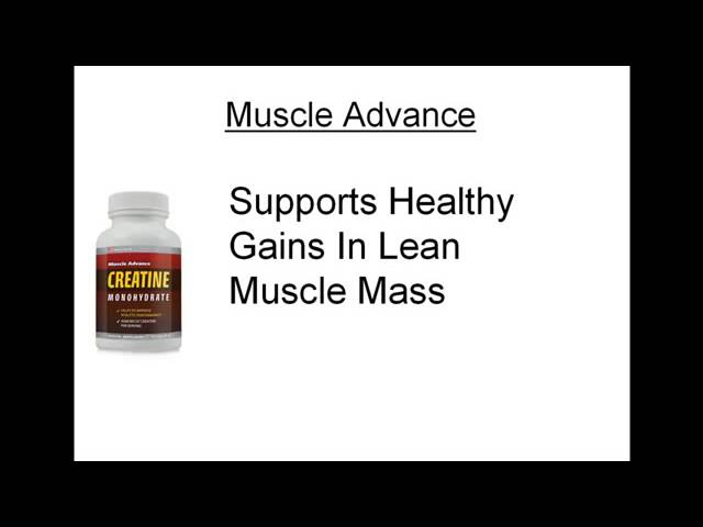 Creatine Supplement Muscle Advance