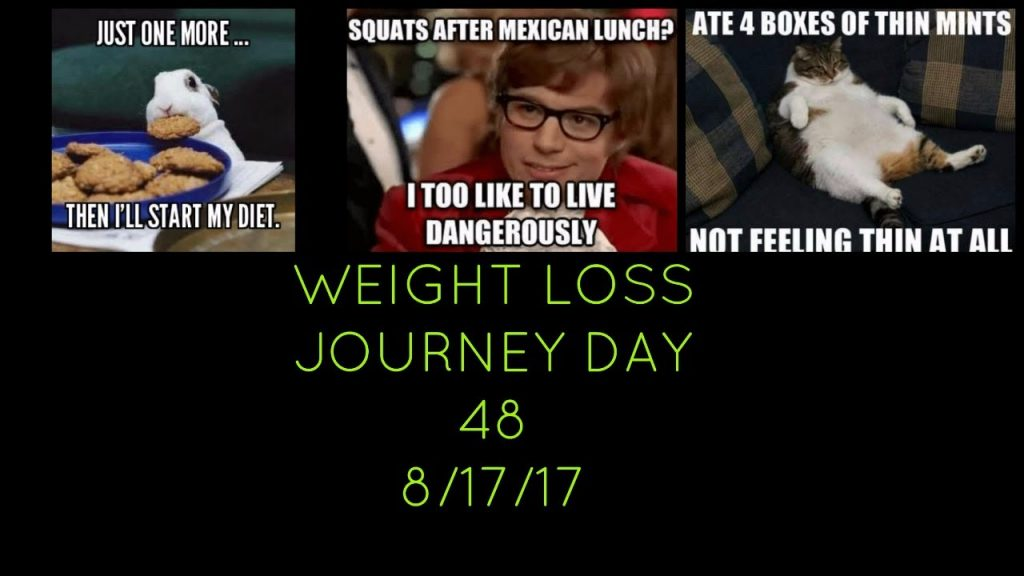 WEIGHT LOSS JOURNEY DAY 48 | LOW CARB DIET | 8/17/17