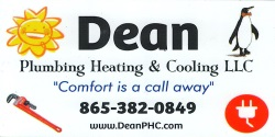 Dean Plumbing, Heating & Cooling, LLC