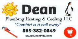 Dean Plumbing, Heating & Cooling, LLC