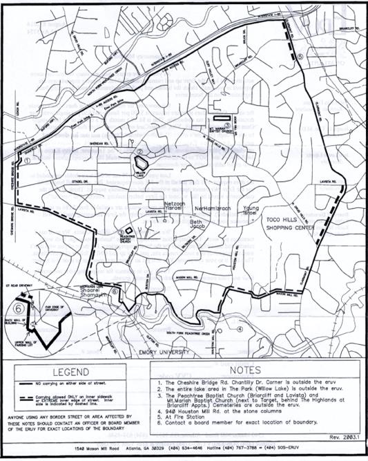 Eruv Map