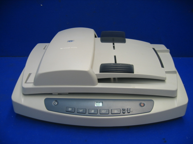 HP Scanjet 5550c C9915A Color Scanner with Document Feeder