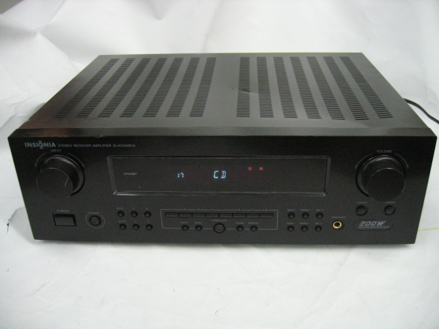 Insignia IS-HC040918 Stereo Receiver Amplifier