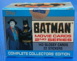 Batman Collectors' Edition 2nd Series Movie Cards Topps