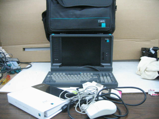 Dolch L-PAC 586 Portable Pentium 233MHz NO HDD 128MB