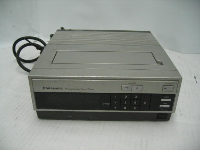Panasonic PV-A600 Programmable Television Tuner/Timer