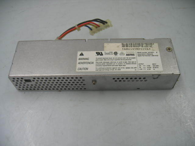 Astec AA16251 Apple PN: 699-0153 Power Supply