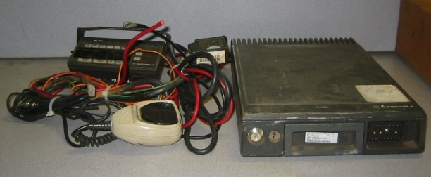 Motorola Maratrac T73XTA7TA7BK VHF 110w 144-174 MHz