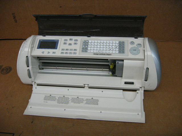 Circuit expression crex001 letter cutting machine ebay for Cricut lettering machine