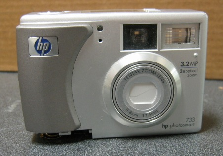 HP Photosmart 733 3.2 MP 3x Zoom Q2208A Digital Camera