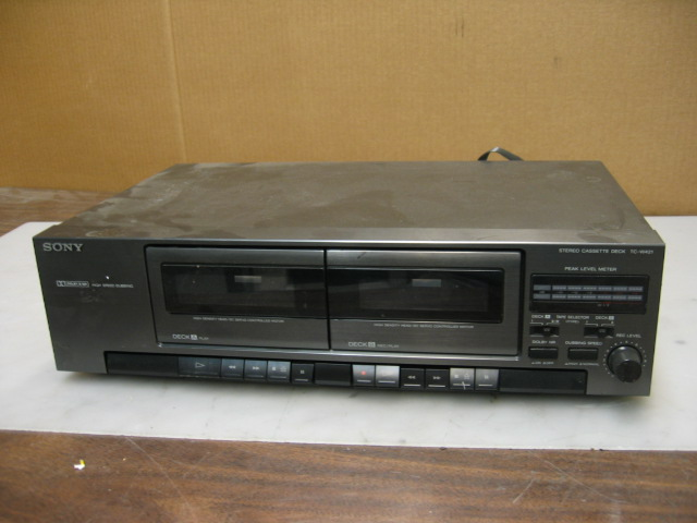 Sony TC-W421 Stereo Dual Cassette Deck