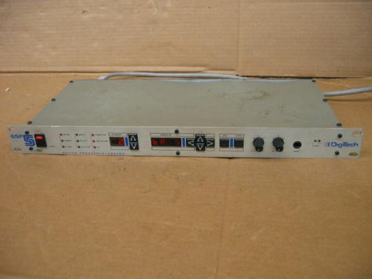 DigiTech GSP 5 Guitar Processor/Preamp 1U Rack Mount