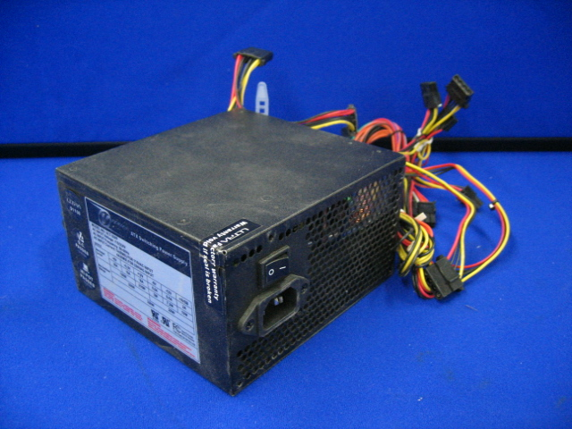 Ultra V Series ULT-350P ATX Switching Power Supply 115/230V 350W Black
