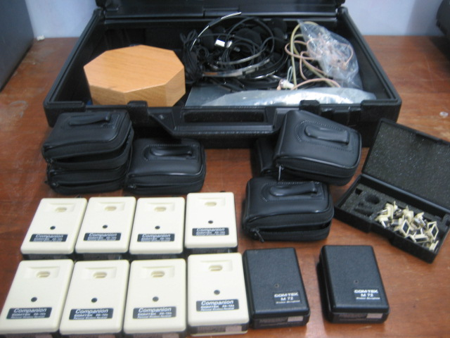 Lot of Comtek Assistive Listening Devices PR-72b & M-72
