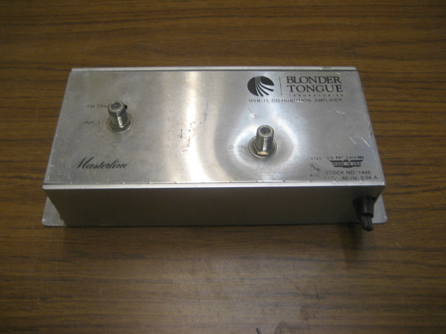 Blonder Tongue MVB-15 VHF Distribution Amplifier